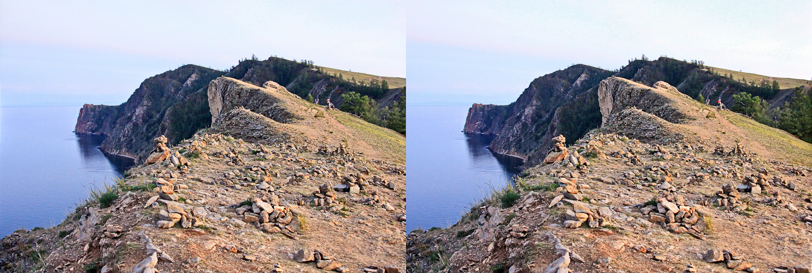 Khoboy Cape - the northernmost point of Olkhon