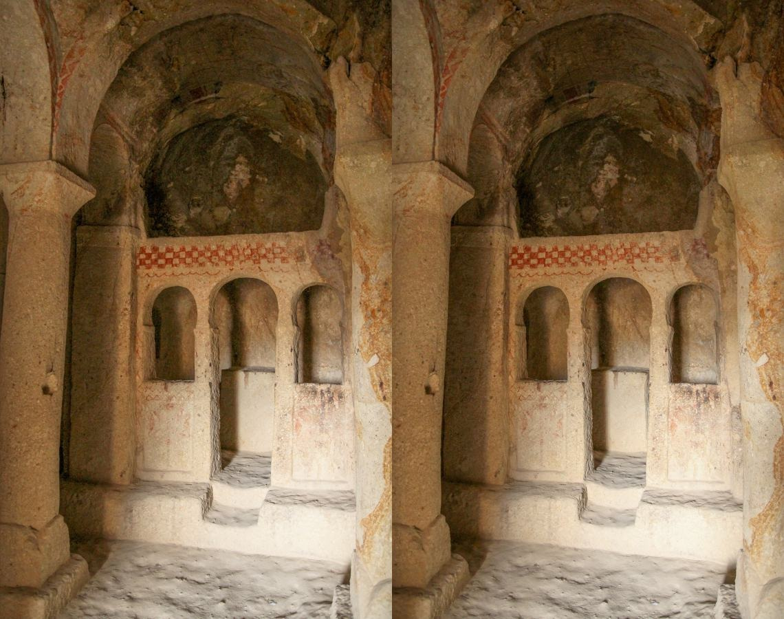 Cave churches in Cappadocia