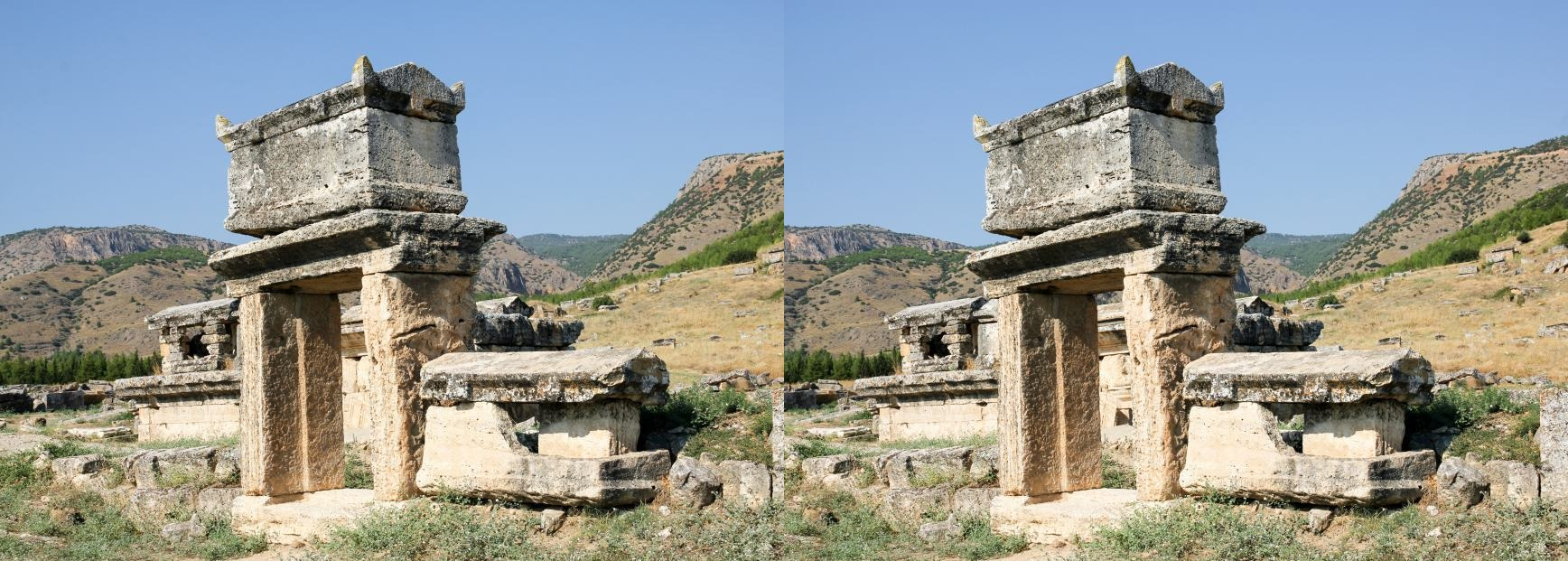 The ruins of Hierapolis